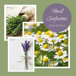 Floral GinFusion seed bundle